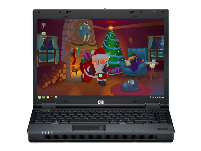 HP 6510b Linux Christmas Special
